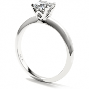 Hearts of Fire Solitaire Diamond Ring