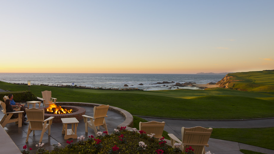 Ritz Half Moon Bay Sunset