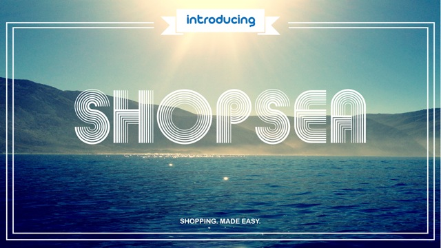 Introducing SHOPSEA