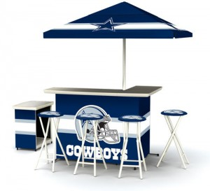 Dallas Cowboys Portable Bars