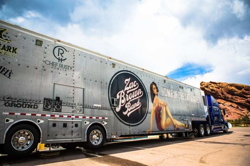Zac Brown Band Truck
