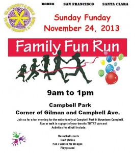 T.M.T.A.T Family Fun Run and Walk