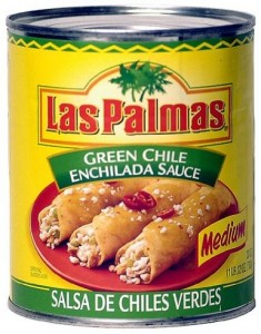 Las Palmas Green Chile Enchilada Sauce