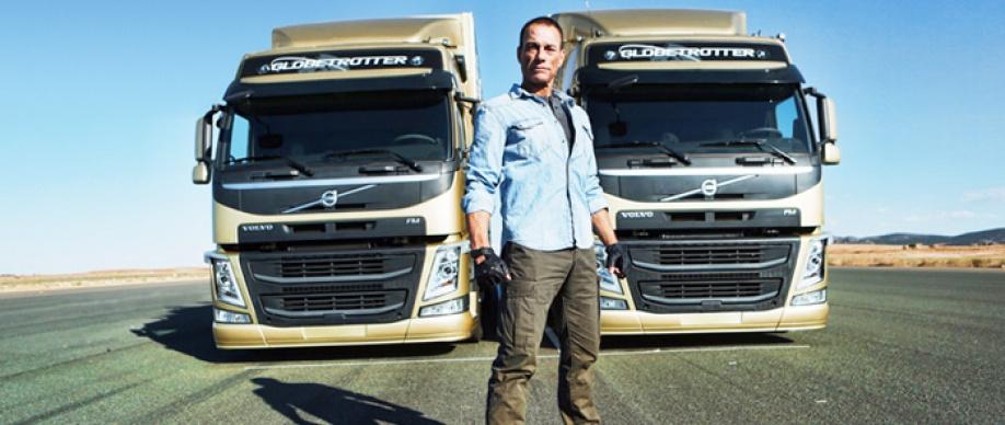 Volvo Trucks with Van Damme