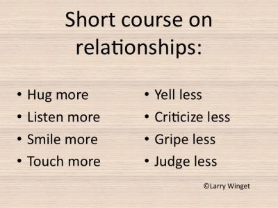 Larry Winget Short Course On Relationships