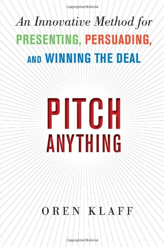 Pitch Anything by Oren KIaff