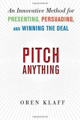 Pitch Anything by Oren KIaff