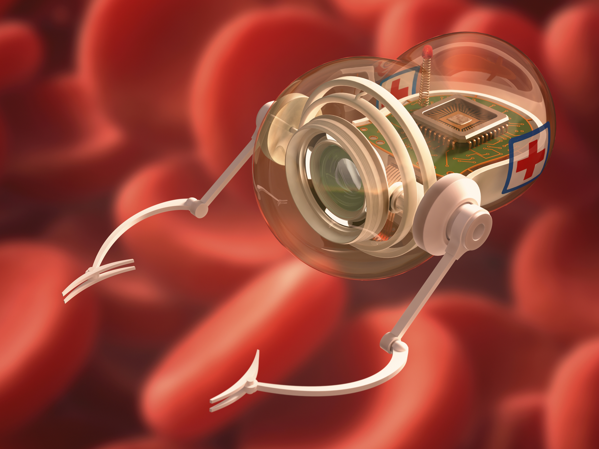 What if we could use nanobots to fight disease?